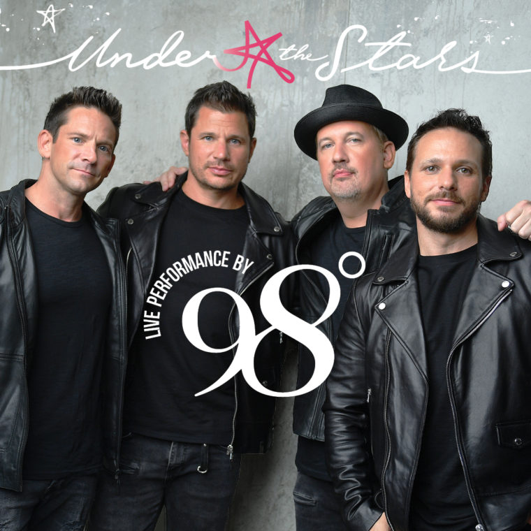 Live performance by 98 Degrees