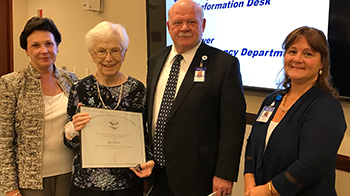 Jean Duffy president's lifetime award recipient