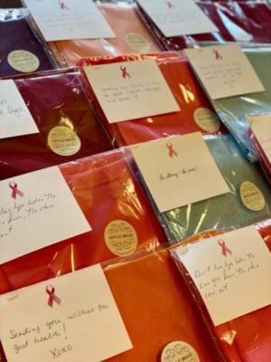 Pashmina scarves from Splurge