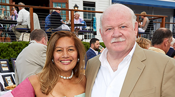 Under the Stars 2018 honoree Patricia Calayag, MD and Norman Roth, CEO